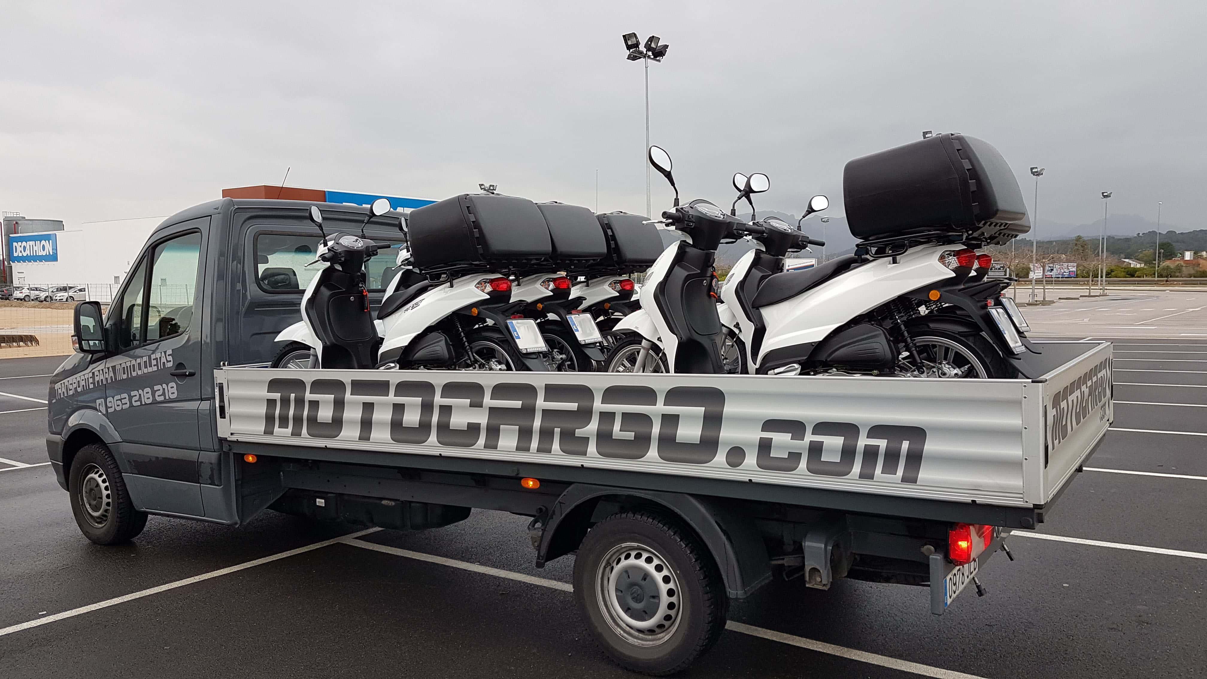 Servicios de transporte de motos moto cargo - Transporte islas baleares ...